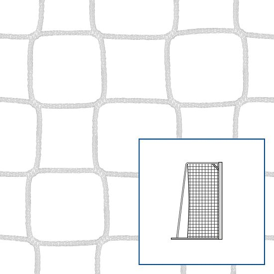 Knotenloses Kleinfeld-/Handballtornetz Weiß