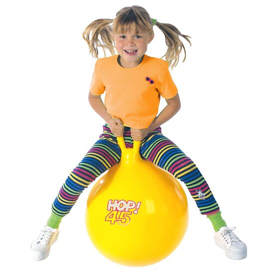 Ledraplastic Hop-Hüpfball ø 45 cm, Gelb