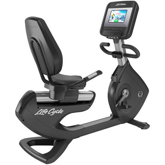 Life Fitness® Recumbent Bike Platinum Club Series Discover SI Konsole