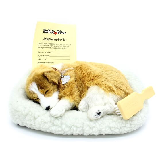 Perfect Petzzz® Schlafende Welpen Collie