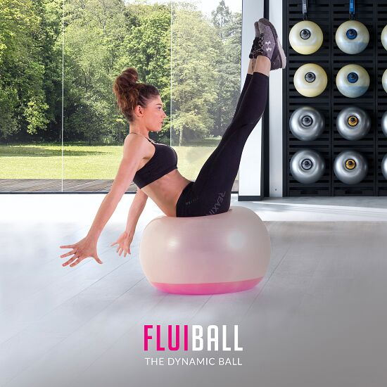 Reaxing® Fluiball 0,5 kg, Rosa, ø 16 cm