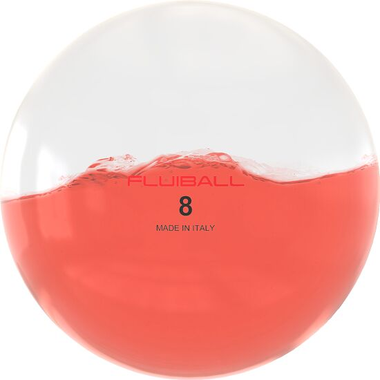 Reaxing® Fluiball 8 kg, Rot, ø 30 cm