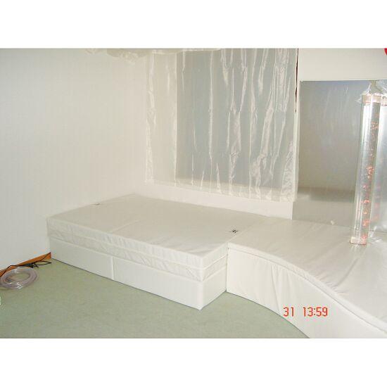 Rompa Musikwasserbett 160x200x50 cm hoch, Mit 4 Pulsgebern