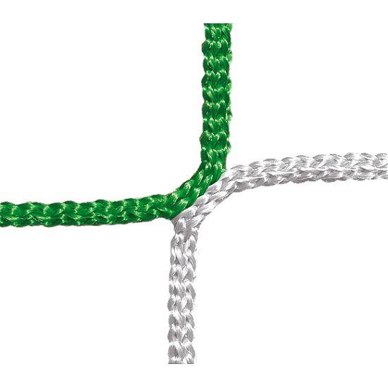 Schutz- und Stoppnetz, 12 cm Maschenweite Grün-Weiß, ø 4,00 mm