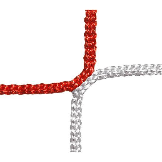Schutz- und Stoppnetz, 12 cm Maschenweite Rot-Weiß, ø 4,00 mm