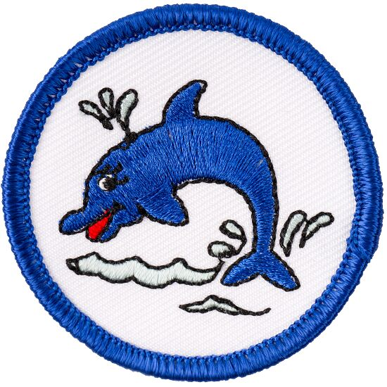 """Schwimmabzeichen """"Delfin"""""""