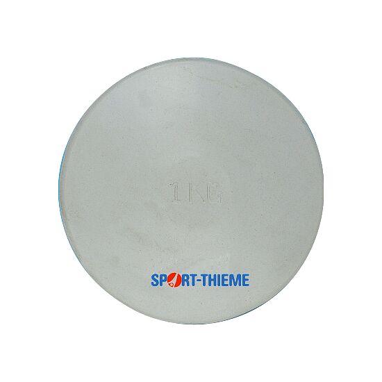 Sport-Thieme Übungsdiskus aus Gummi 1 kg