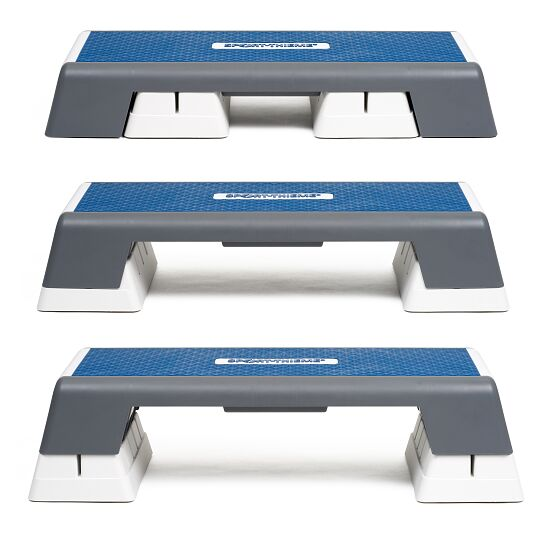 Sport-Thieme® Aerobic-Step Weiß-Blau