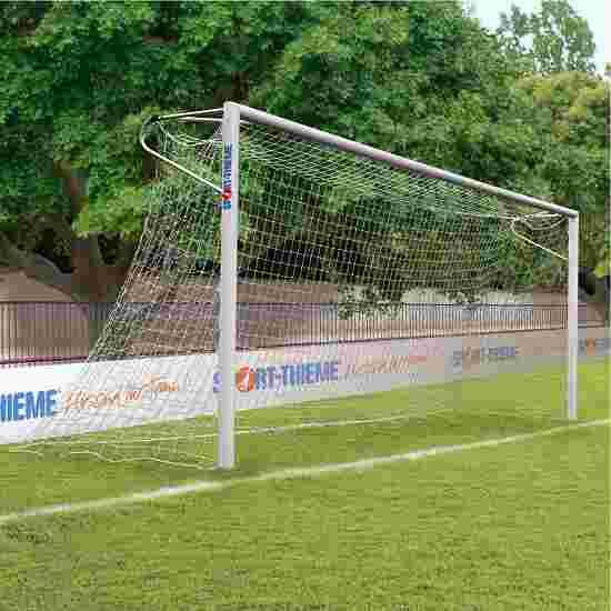 Sport-Thieme Alu-Fußballtore, 7,32x2,44 m, eckverschweißt, in Bodenhülsen stehend Netzhalter