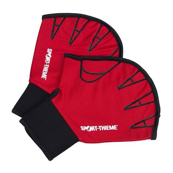 Sport-Thieme® Aqua-Fitness-Handschuhe, offen M, Rot