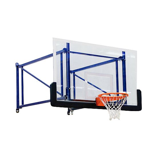 Sport-Thieme Basketball-Wandgerüst schwenk-und höhenverstellbar Ausladung 170 cm, Betonwand