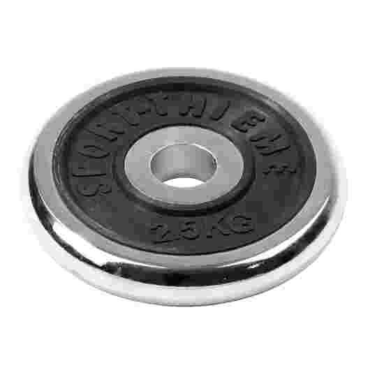Sport-Thieme Chromhantelscheibe 2,5 kg