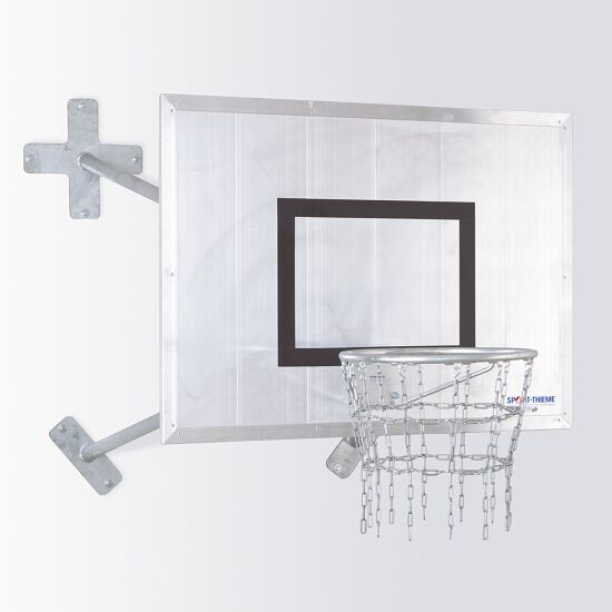 "Sport-Thieme Fair Play Basketball-Wandanlage ""Outdoor"" Korb ""Outdoor"", Zielbrett: Aluminium"