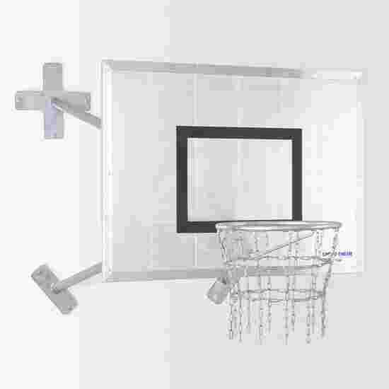 """Sport-Thieme Fair Play Basketball-Wandanlage """"Outdoor"""" Korb """"Outdoor"""", Zielbrett: Aluminium"""