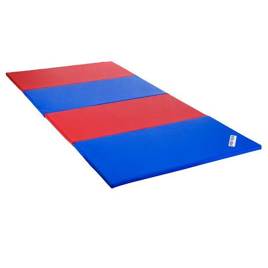 Sport-Thieme Faltmatte 240x120x3 cm, Blau-Rot