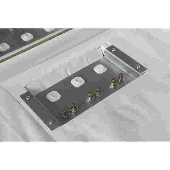 Sport-Thieme Gepolsterte Plattform - Eckversionen 100x100x50 cm, mit Wellenform-Plattform
