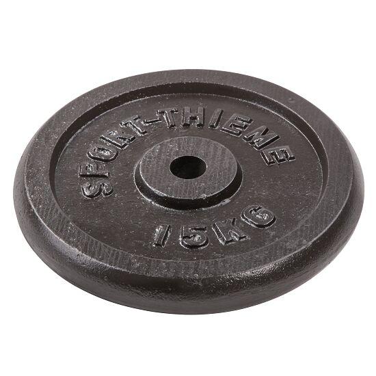 """Sport-Thieme Hantelscheibe """"Gusseisen"""" 15 kg"""