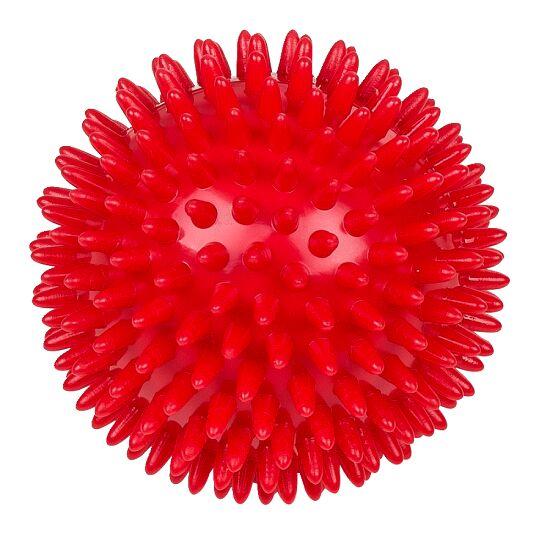 Sport-Thieme® Igelball / Noppenball, weich Rot, ø 9 cm