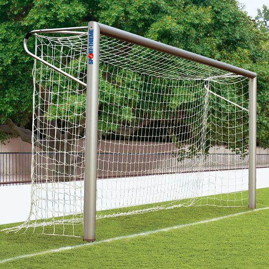 Sport-Thieme Jugendfußballtor 5x2 m, Ovalprofil, in Bodenhülsen stehend