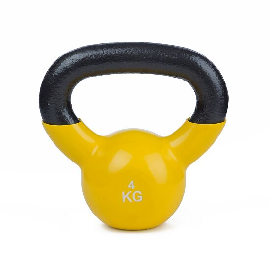 Sport-Thieme® Kettlebell Vinyl 4 kg Gelb