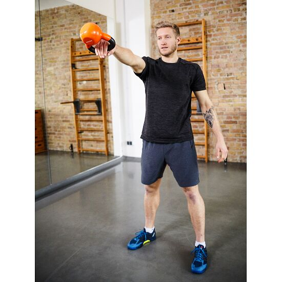 Sport-Thieme® Kettlebell Vinyl 6 kg, Orange