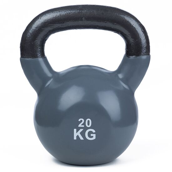 Sport-Thieme® Kettlebell Vinyl 20 kg, Grau