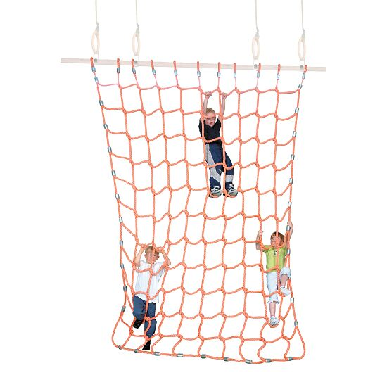 Sport-Thieme Kletternetz Polypropylen, Orange, 3x2,5 m