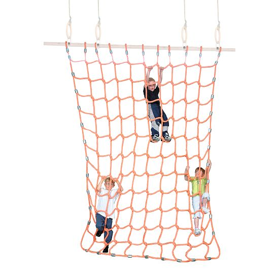 Sport-Thieme Kletternetz Polypropylen Orange, 2x2 m