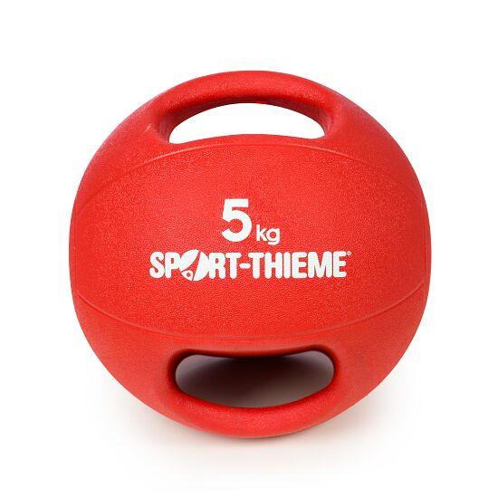 Sport-Thieme Medizinball  mit Griff 5 kg, Rot