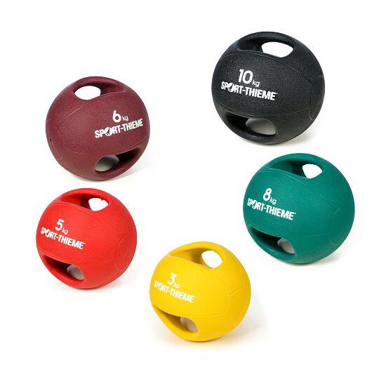 Sport-Thieme Medizinball  mit Griff 10 kg, Schwarz