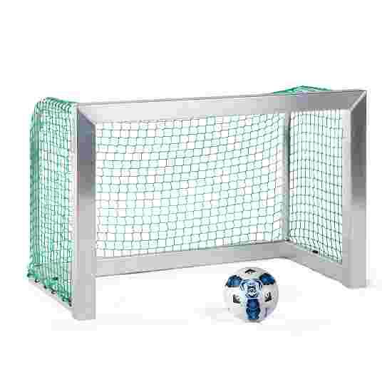 Sport-Thieme Mini-Fußballtor, vollverschweißt 1,20x0,80 m, Tortiefe 0,70 m, Inkl. Netz, grün (MW 4,5 cm)
