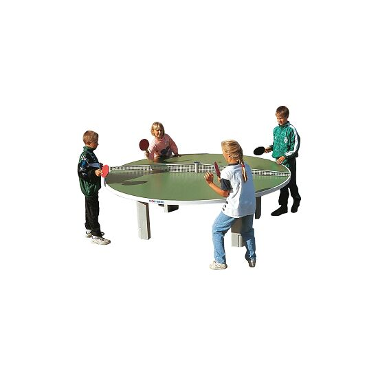 """Sport-Thieme Polymerbeton-Tischtennisplatte """"Rondo"""" Grün"""