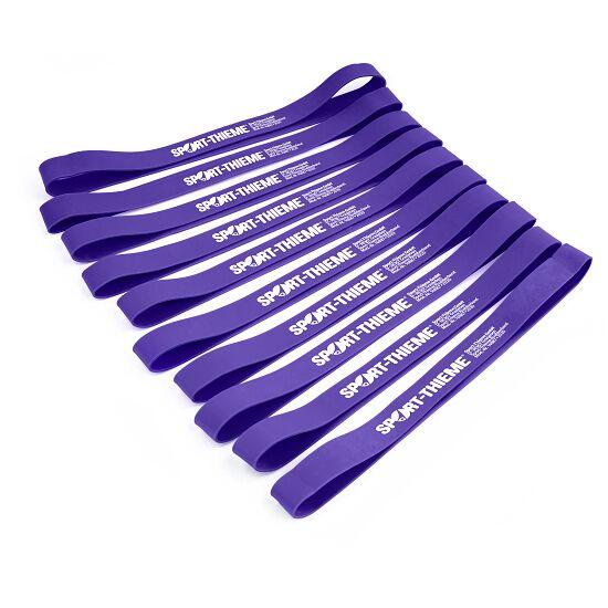 Sport-Thieme® Rubberbands 10er Sets Violett, stark