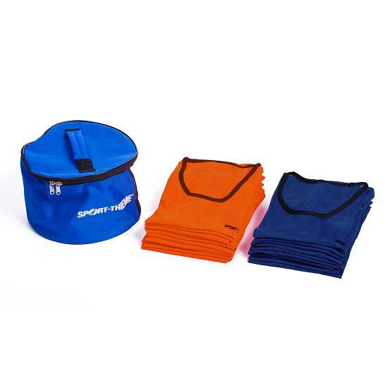 """Sport-Thieme Set Mannschaftswesten """"Premium"""" Erwachsene, Orange/Blau"""