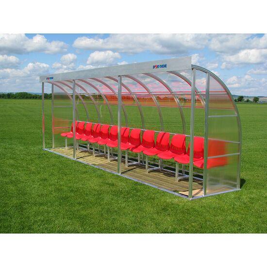 Sport-Thieme Spielerkabine für 13 Personen Polycarbonat, Sitzschale