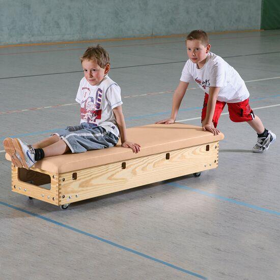 """Sport-Thieme Sprungkasten  """"Original"""" 6-teilig Mit Schwenk-u. Rollvorrichtung"""