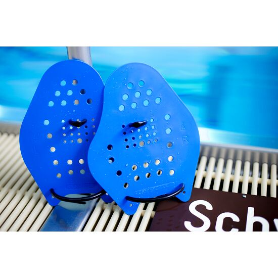Sport-Thieme Swim-Power Paddles Größe XL, 24x20 cm, Blau