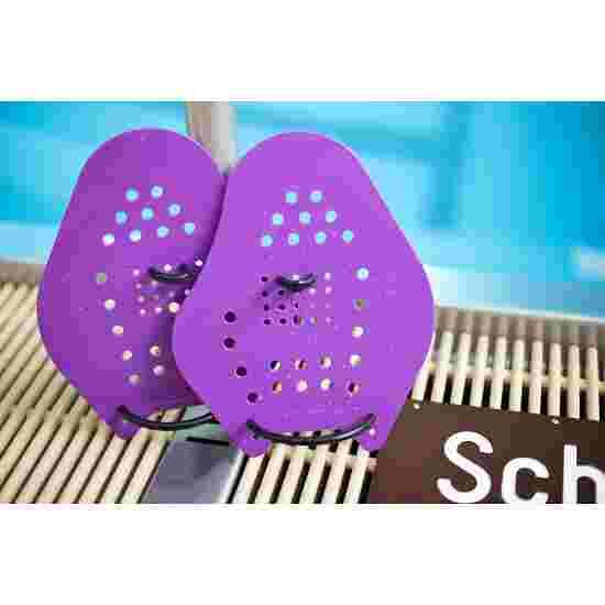 Sport-Thieme Swim-Power Paddles Größe XXL, 26x21 cm, Violett