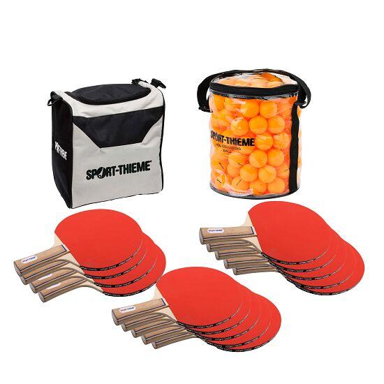 """Sport-Thieme® Tischtennis-Schulsport-Set """"Paris"""" Bälle Orange"""