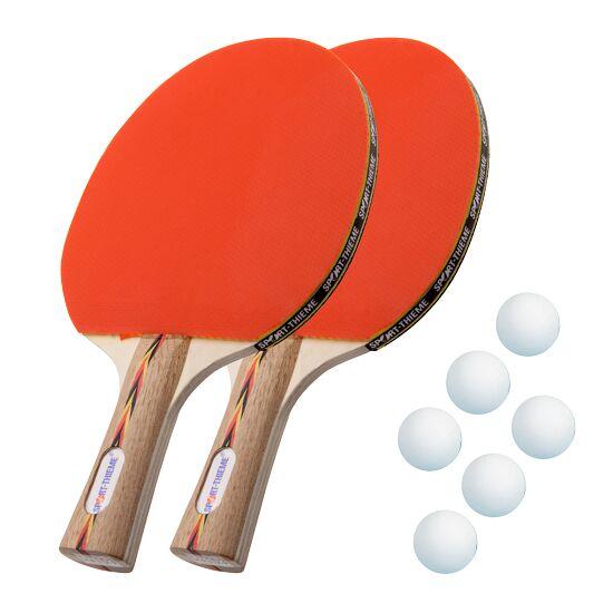 """Sport-Thieme® Tischtennisschläger-Set """"Berlin"""" Bälle Weiß"""