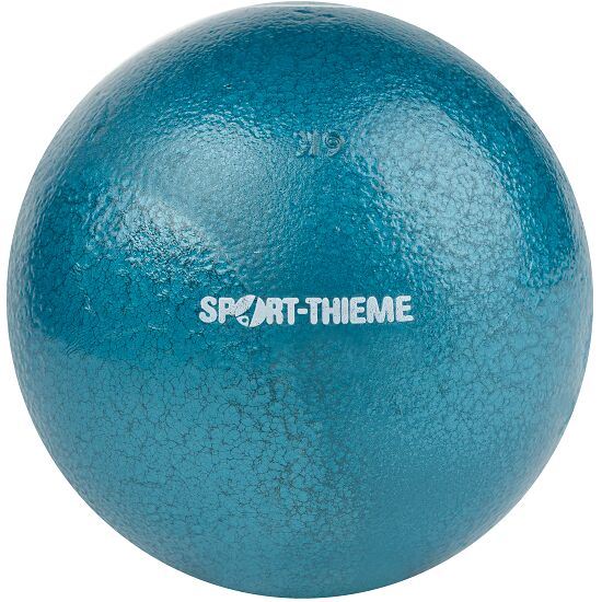 Sport-Thieme® Trainings-Stoßkugel 6 kg, Blau, ø 119 mm