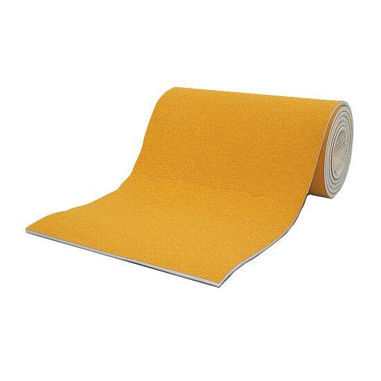 Sport-Thieme® Wettkampf-Bodenturnfläche 12x12 m Bernsteingelb, 25 mm, 1,5 m breit