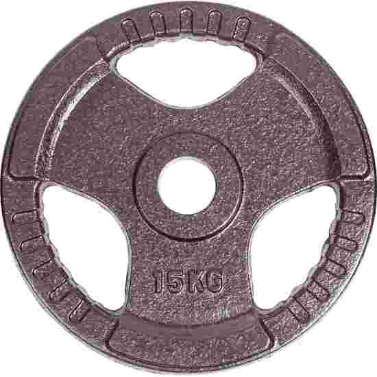 Sport-Thieme Wettkampf-Guss-Hantelscheibe 15 kg