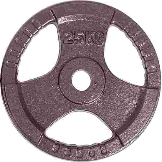 Sport-Thieme Wettkampf-Guss-Hantelscheibe 25 kg