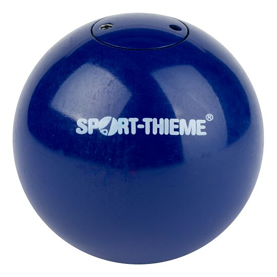 Sport-Thieme® Wettkampf-Stoßkugel tariert 2 kg, Blau, ø 80 mm