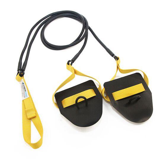 StrechCordz mit Handpaddel Gelb, Zugstärke 2,2-6,3 kg