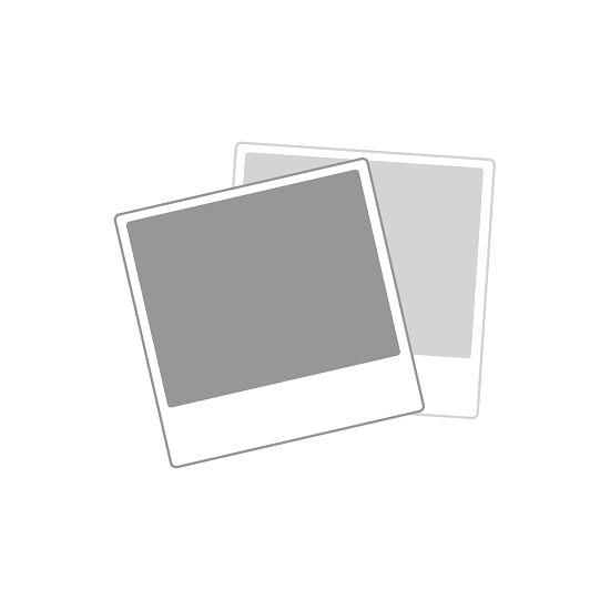 Sypro Wolf® Umkleidebank für Trockenräume mit Rückenlehne, doppelseitig 1,01 m , Ohne Schuhrost