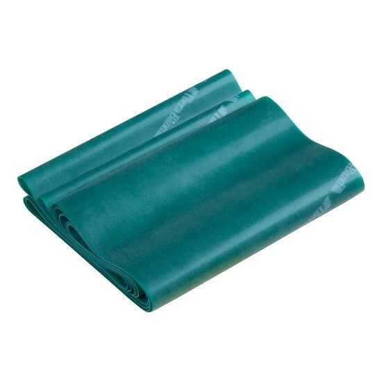 TheraBand™ 250 cm in Reißverschlusstasche Grün, stark