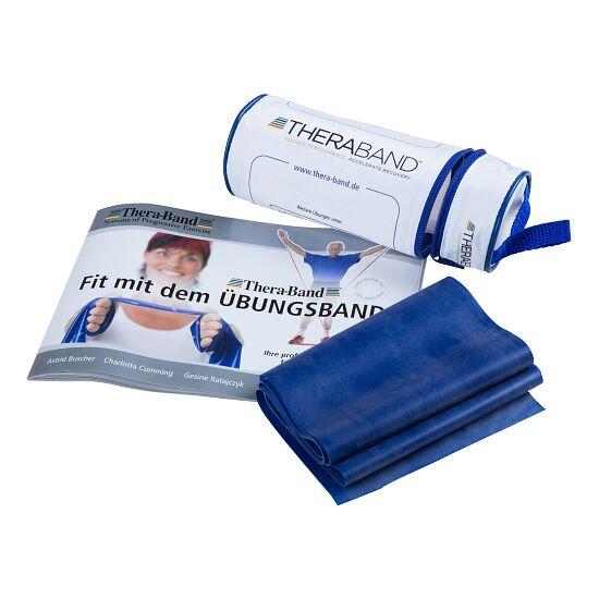 TheraBand™ 250 cm in Reißverschlusstasche Blau, extra stark
