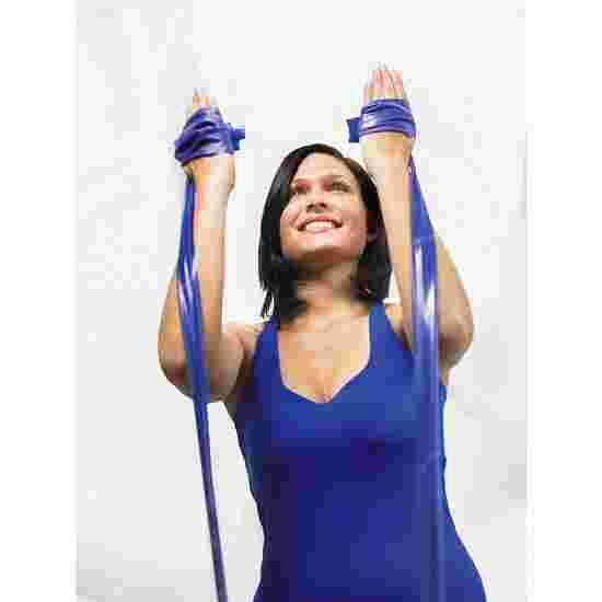 TheraBand 250 cm in Reißverschlusstasche Blau, extra stark